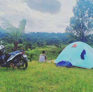 Leha-Leha di Army Camping Ground dan Curug Seribu Bogor